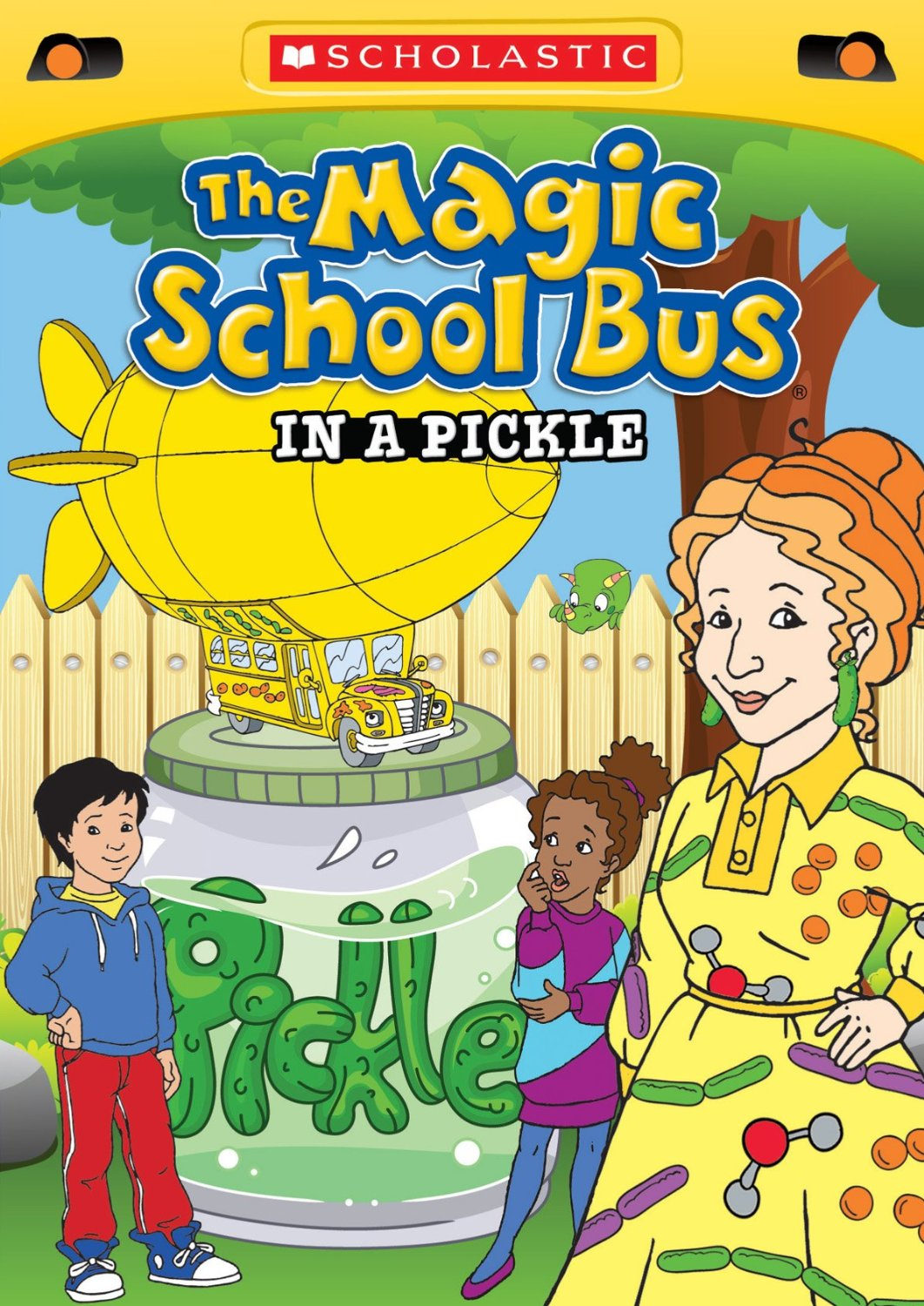Scholastic the magic school bus explores inside the earth