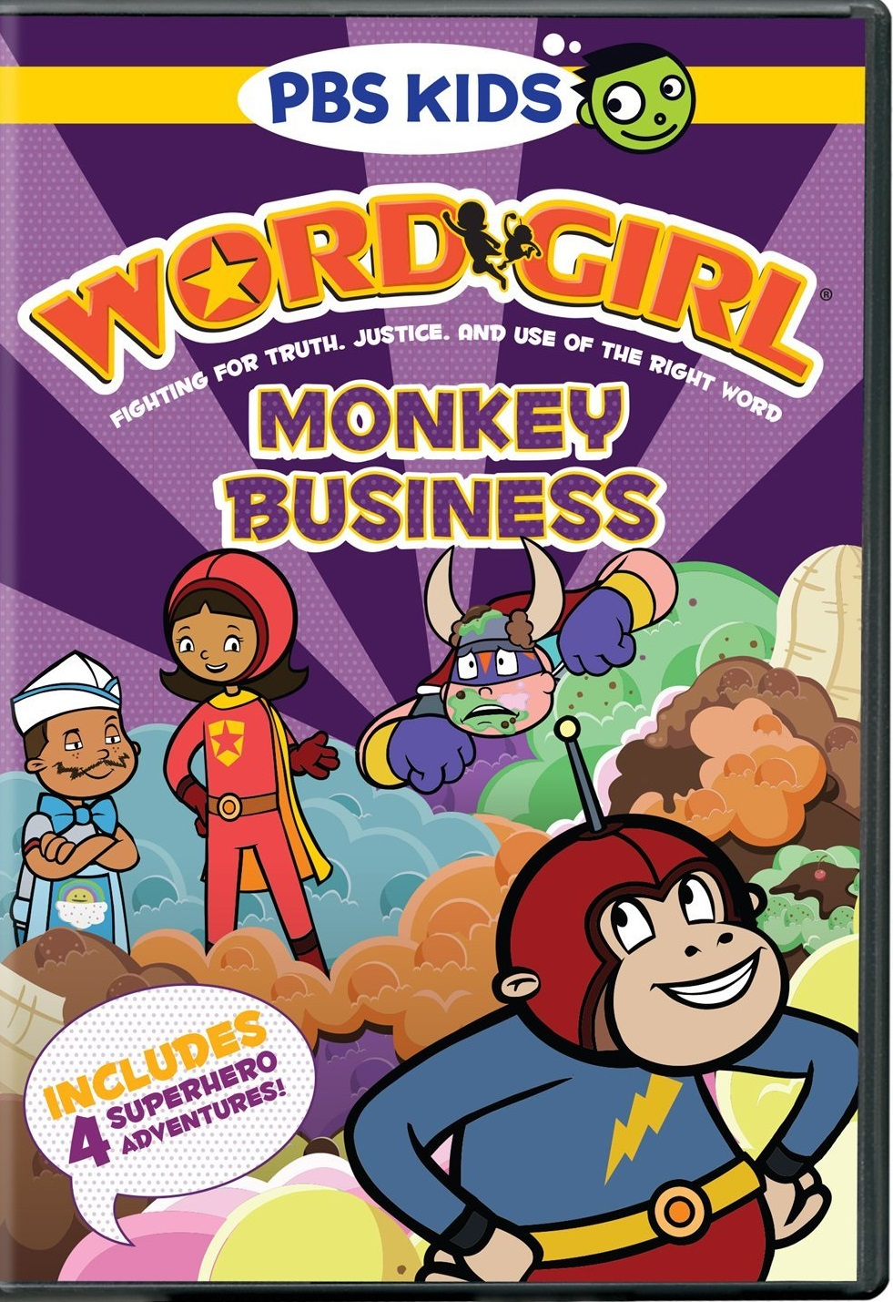pbs kids releases release date info for new wordgirl dvd