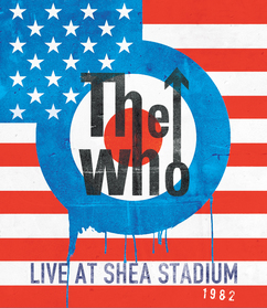 The Who Live at Shea Stadium 1982 Box Art