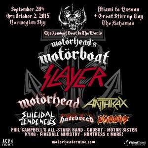 Motorhead Motorboat Poster