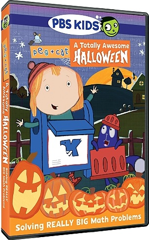 Pbs Kids Halloween Dvd.Pbs Kids Gives Families Yet Another Fun Treat In Its New Peg Cat
