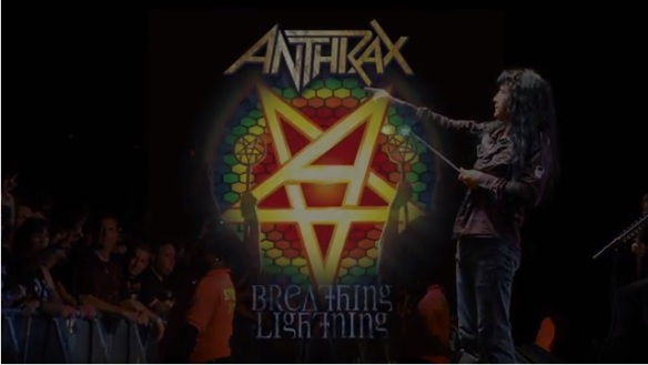 Anthrax Breathing Lightning Video Screenshot