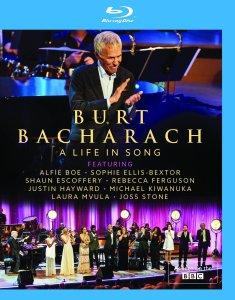 Burt Bacharach A Life in Song BD Box Art