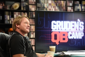 Orlando, FL - March 31, 2015 - Wide World of Sports: Jon Gruden during Gruden's QB Camp class of 2015 (Photo by Scott Clarke / ESPN Images)