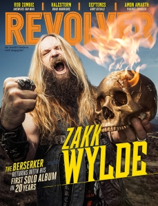 Zakk WYlde Revolver Mag Cover