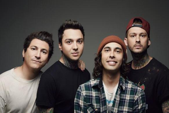 L-R:  Jaime Preciado, Tony Perry, Vic Fuentes, Mike Fuentes Photo credit:  Jonathan Weiner