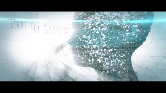 Tesseract Smile Video Grab