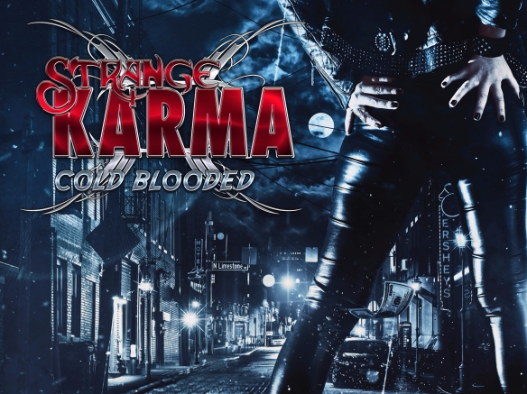 Strange Karma - Cold Blooded Cover Art