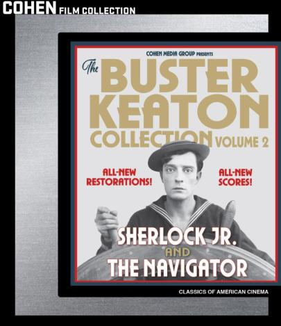 Buster Keaton Collection Volume 2 Bo Art